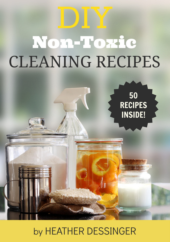 DIY Non-Toxic Cleaning Recipes