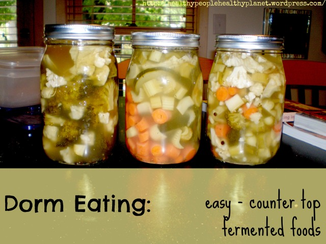 Dorm Eating: Fermented Foods
