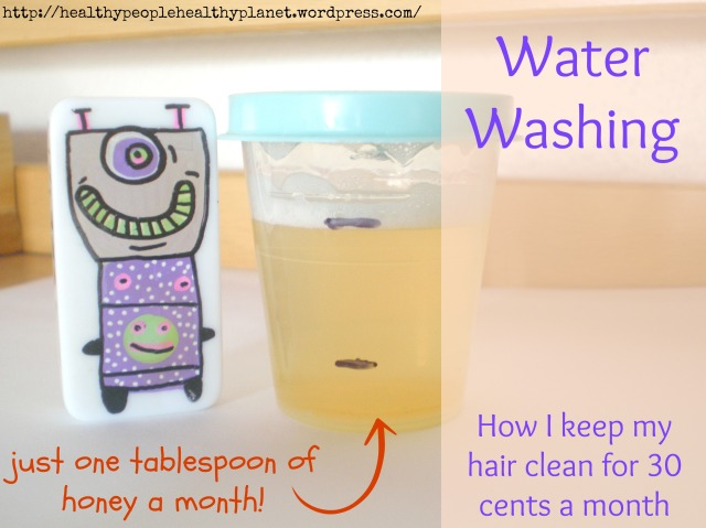 Learn to keep your hair clean for less than $4 a year!